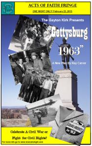 Gettysburg 1963 February 23, 2013