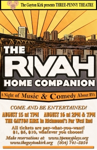 The Rivah Home Companion August 15 & 16, 2014