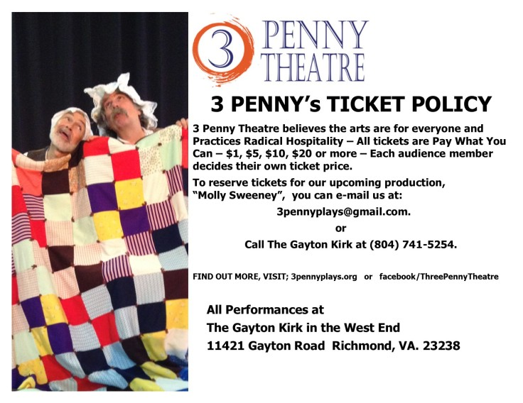 molly sweeney ticket policy